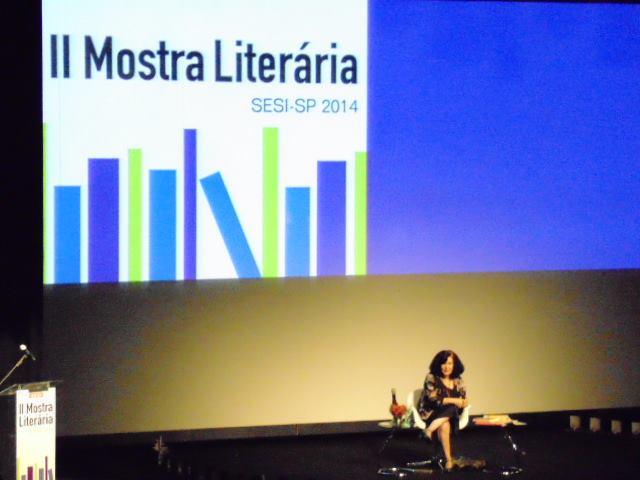 Palestra de Heloísa Prieto